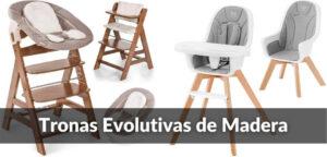 Mejores Tronas Evolutivas de Madera